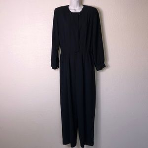 Liz Claiborne Black Petite Jumpsuit